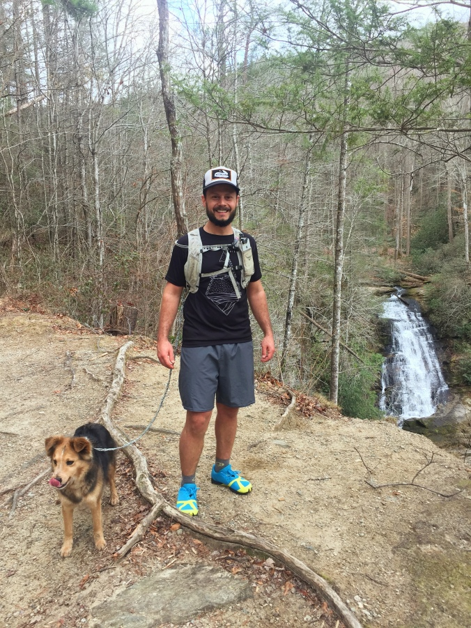Laurel Fork Falls at Lake Jocassee Foothills Trail