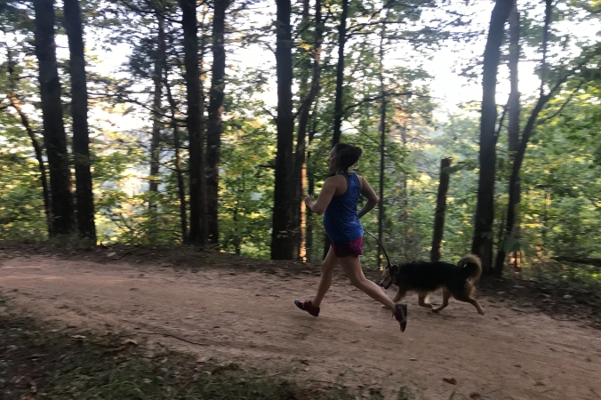 Sulphur Springs Trail, Paris Mountain State Park, Trail Running